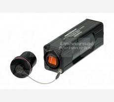 opticalCON MTP IP65 Coupler, Single Mode APC, Green
