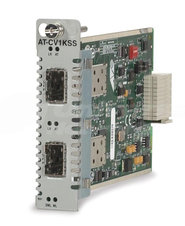 Allied Telesis AT-CV1KSS Converteon 2 Port SFP card