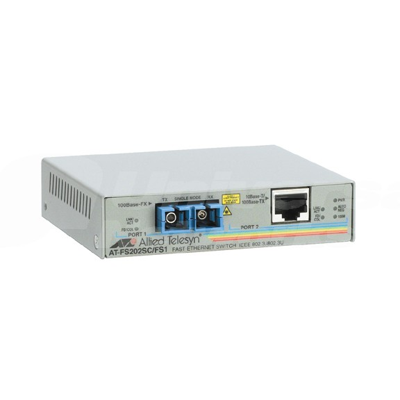 Allied Telesis AT-FS202 100Mb Copper to Fibre SC MM