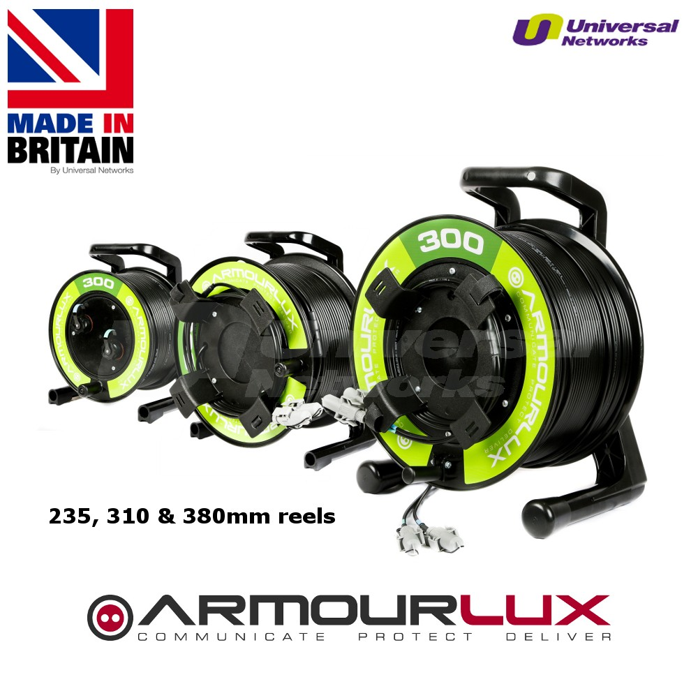 ArmourLux300 Armoured 2 Core LC Uni Plug - LC Socket OS1/2