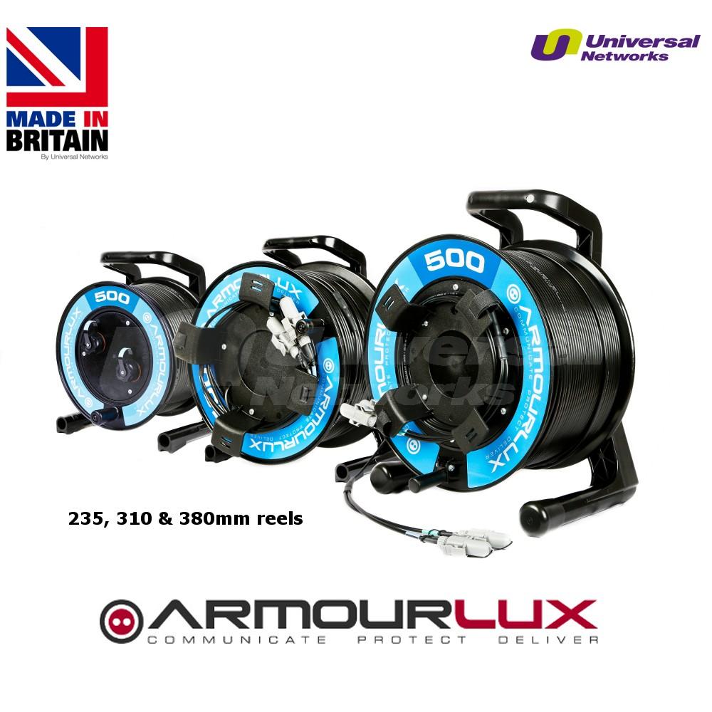ArmourLux500 Tactical 2 Core LC Uni Plug-LC Socket OM3