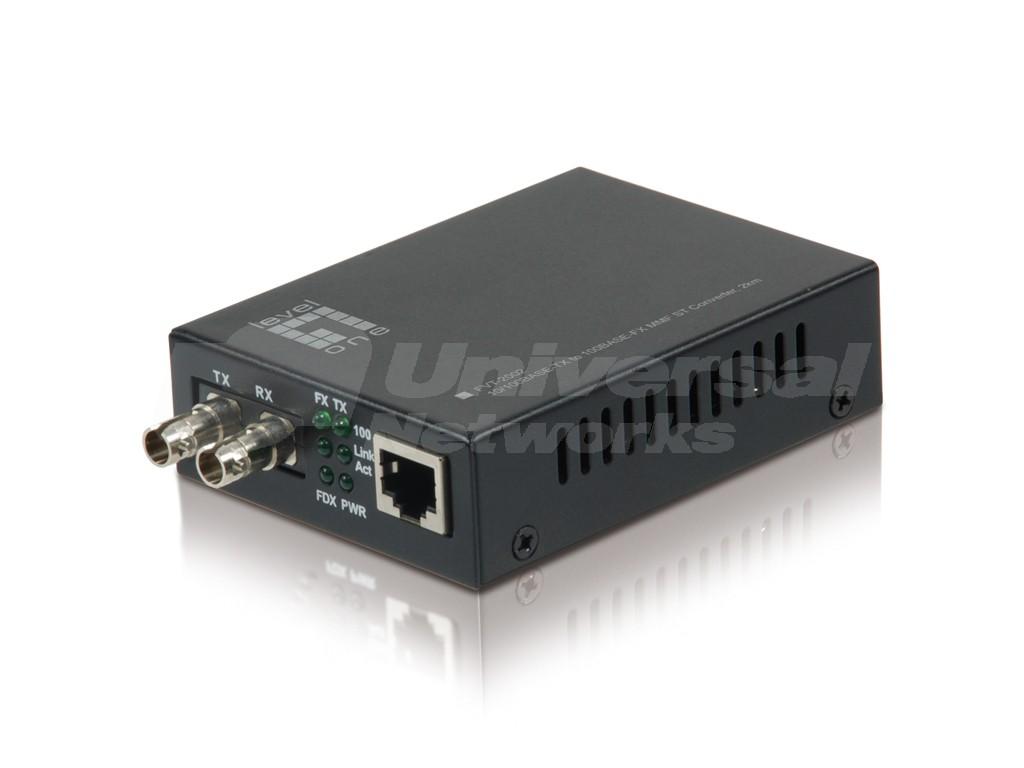 LevelOne Media Converter, ST Multi-Mode, 2km