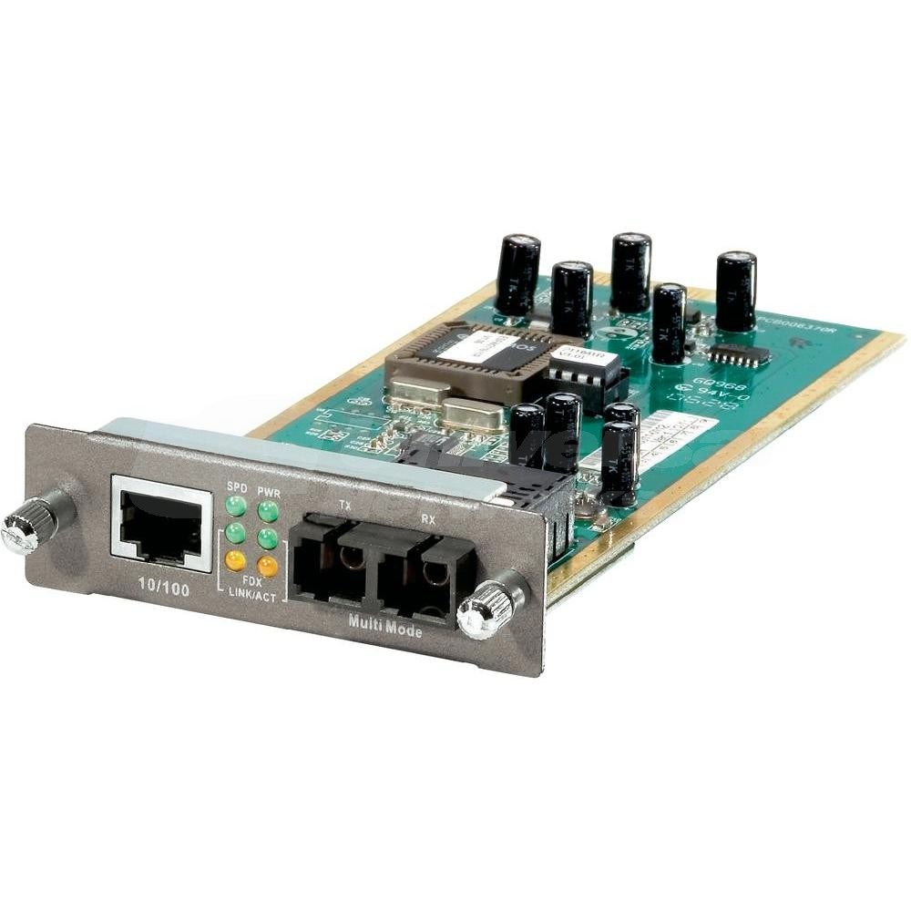 LevelOne Media Converter Module, SC Multi-Mode, 2km