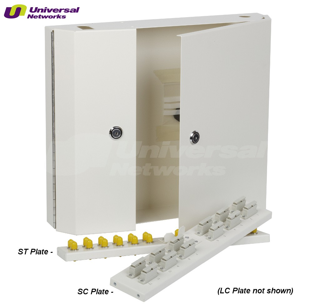 SC Single Mode Wall Box, Double Door Lockable