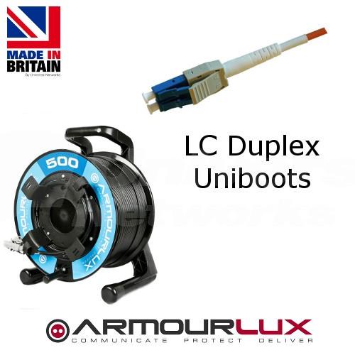 ArmourLux500 Duplex LC Uniboots