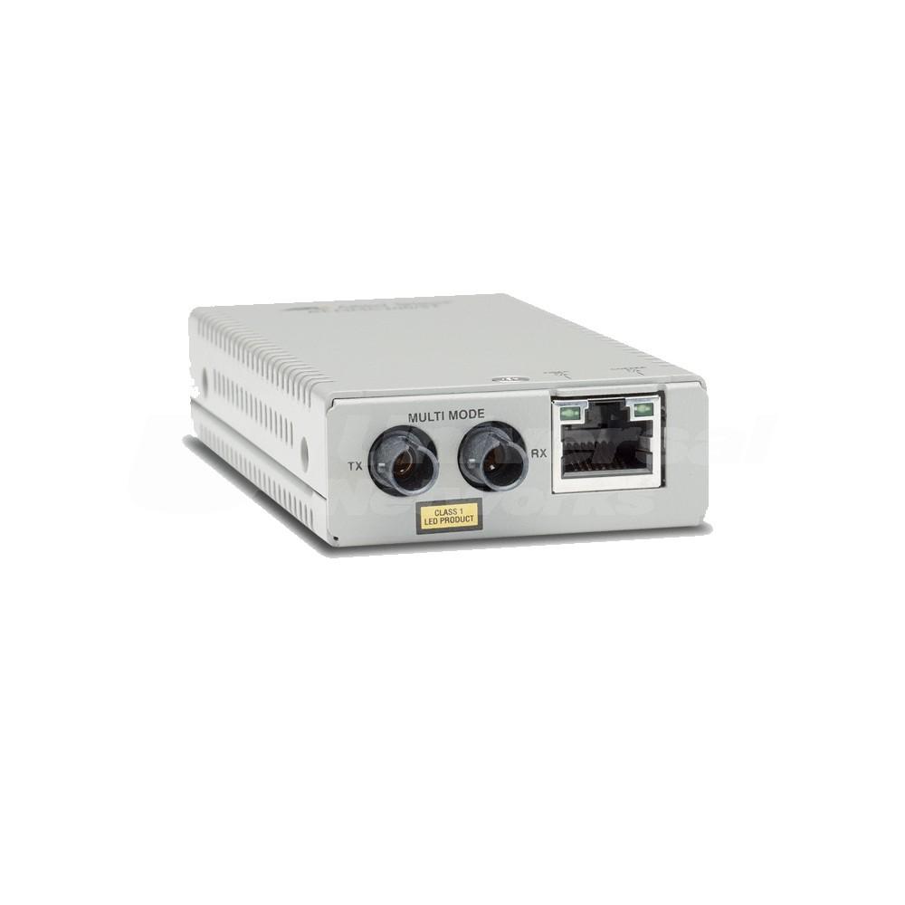 Allied Telesis AT-MMC200LX/ST-TAA 100Mb Copper to Fibre ST SM