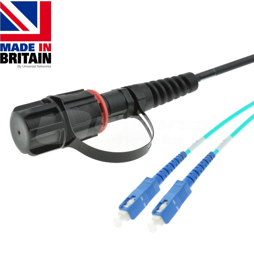 Tactical Fibre Patch Cable LC IP-PRO2-SC Simplex OM3