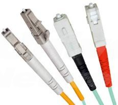 LC-SC Duplex LSZH Fibre Patch Cable, 50/125 OM4