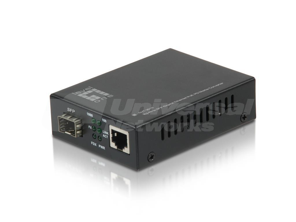 LevelOne PD Media Converter GVT-2010, SFP Slot
