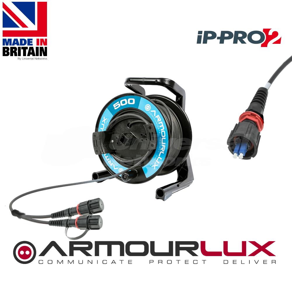 ArmourLux500 Tactical 4 Core IP-PRO2 Plugs OM3
