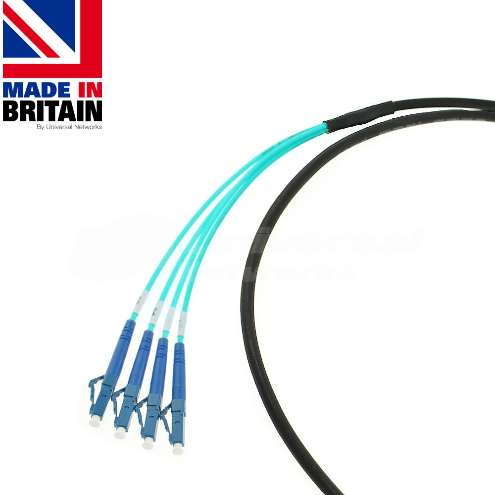 LC Simplex OM3 Tactical patch Fibre cable