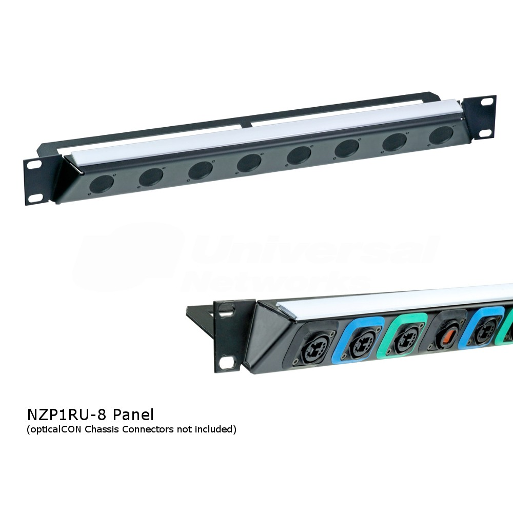 Neutrik NZP1RU-8 opticalCON Panel