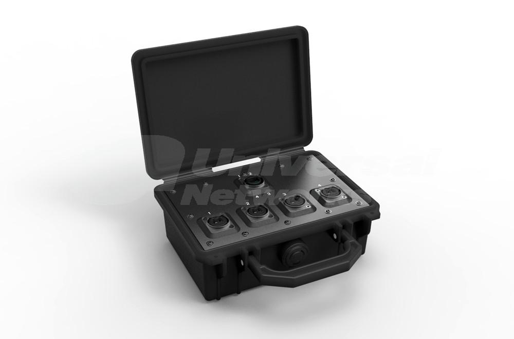 NO4MBB4D Neutrik OpticalCon Breakout Box