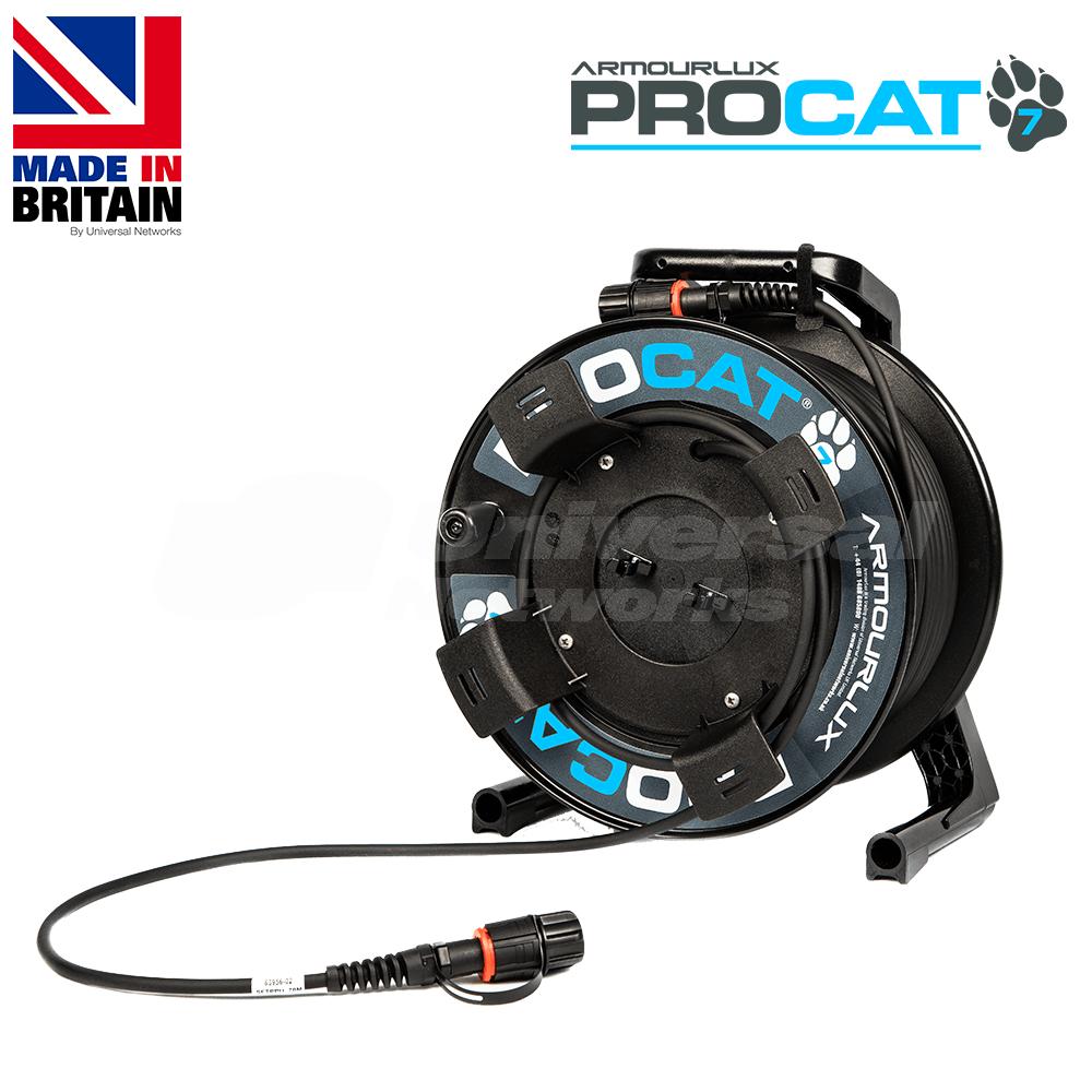 PROCAT7 Cat6a/7 PUR, 2x IP-RJ45 Plugs