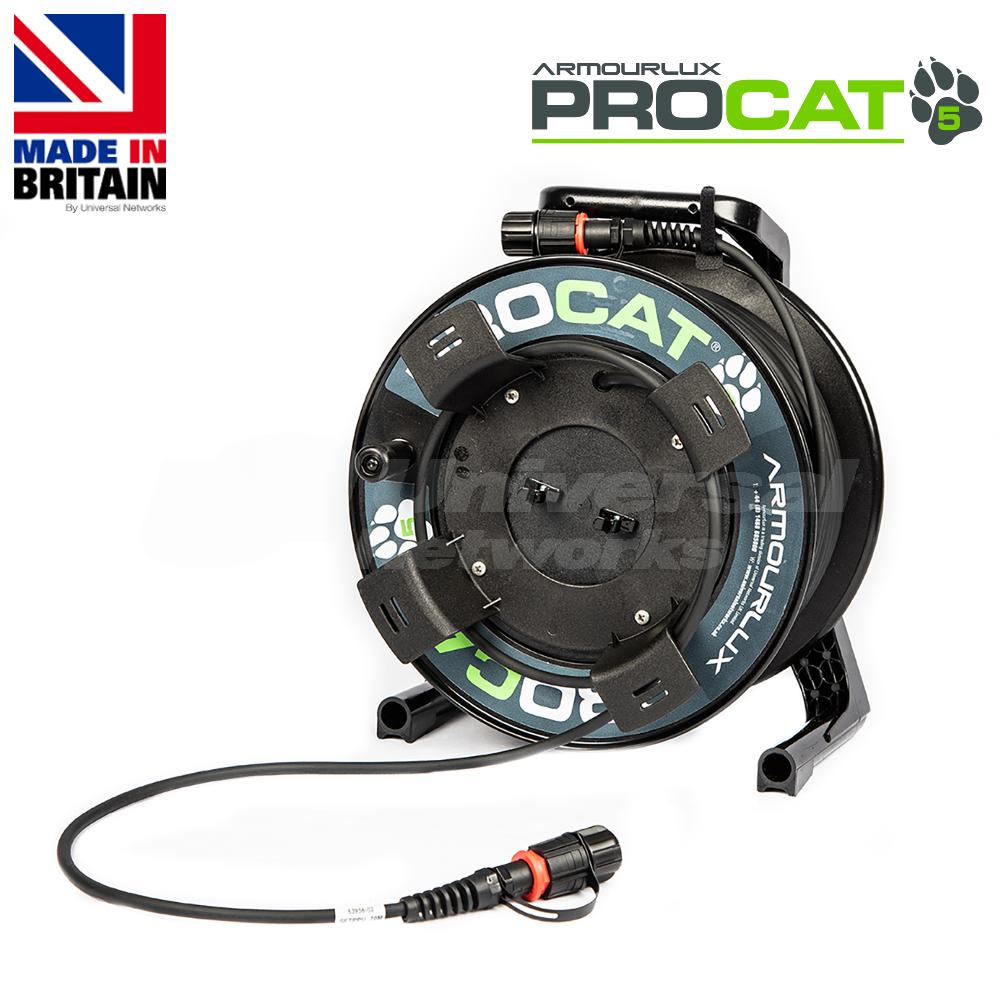 PROCAT5 Cat5e CatSnake, 2x IP-RJ45 Plugs