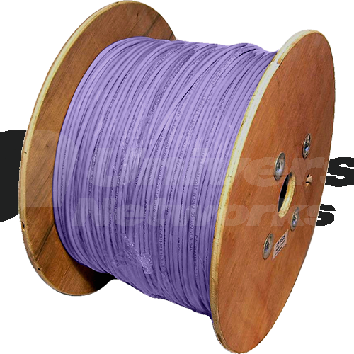 Datwyler Uninet 7702 Cat 7 Stranded, Purple, 1km