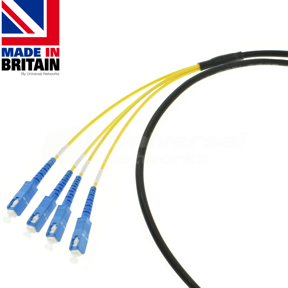 Singlemode Tactical Patch cable with SC
