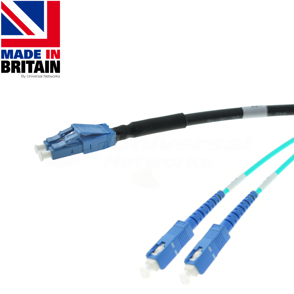 Tactical Fibre Patch Cable LC Uniboot - SC OM3