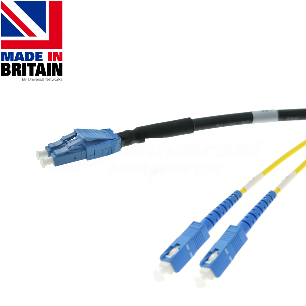 Tactical Fibre Patch Cable LC Uniboot - SC OS2