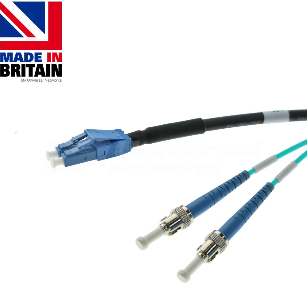 Tactical Fibre Patch Cable LC Uniboot - ST OM