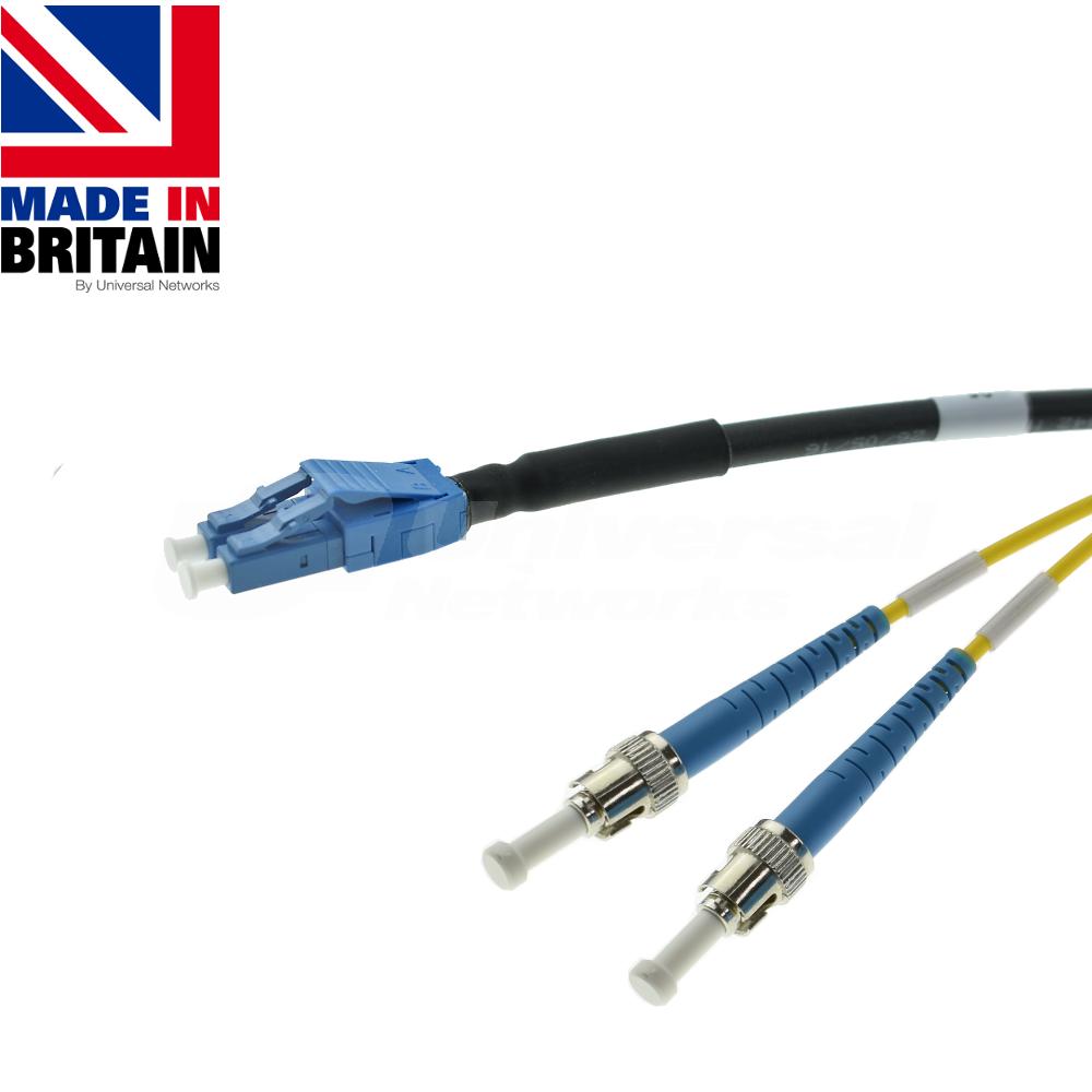 Tactical Fibre Patch Cable LC Uniboot - ST OS2
