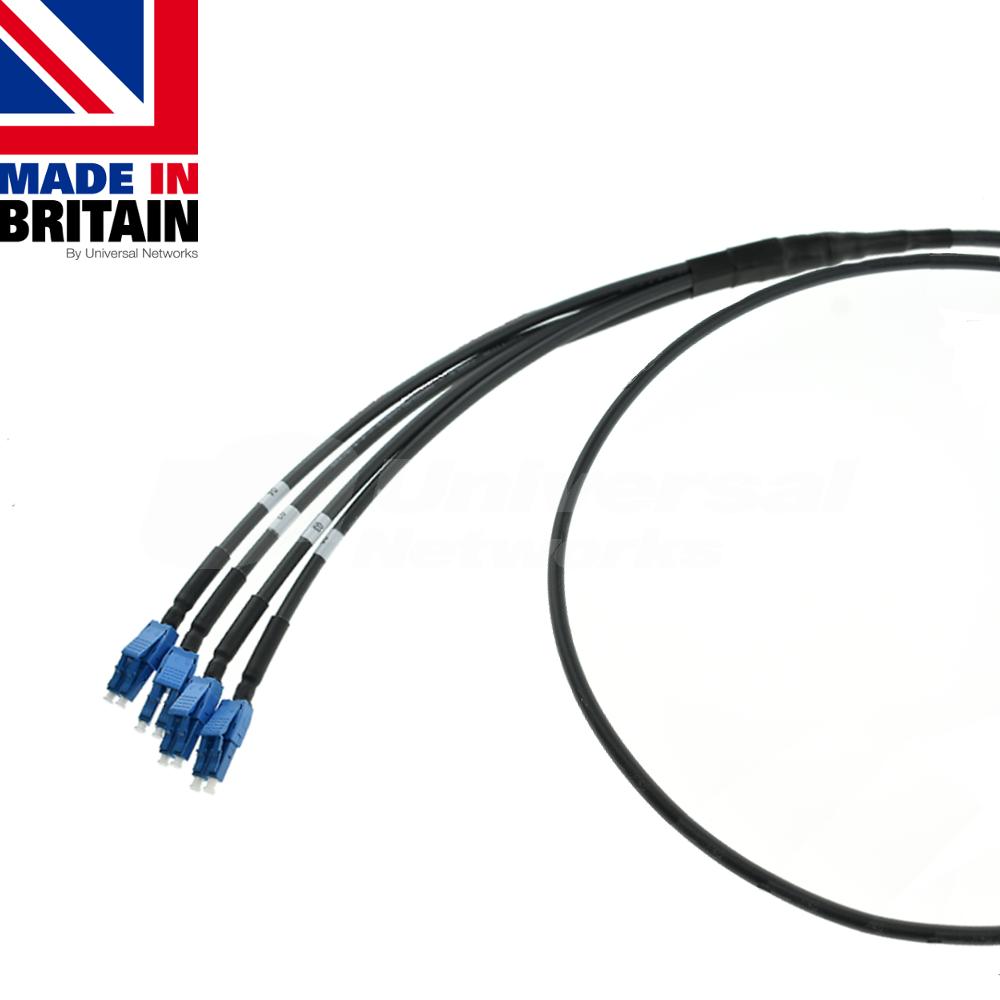 Tactical Fibre Patch Cable LC Uniboot OS2