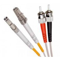 Multi Mode Duplex Fibre Patch Cable, LC-ST OM2