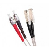 Multi Mode Duplex Fibre Patch Cable, E2000-FC OM2