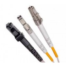 Single Mode Duplex Fibre Patch Cable, 9/125, LC-MTRJ.