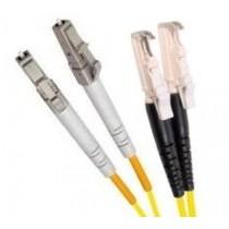 Single Mode Duplex Fibre Patch Cable, E2000-LC OS1