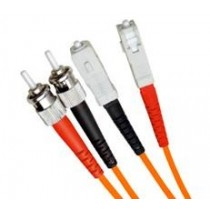 Armoured OM1 LSZH Fibre Patch Cable, ST-SC