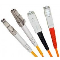 Armoured OM1 LSZH Fibre Patch Cable, LC-SC