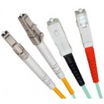 Armoured OM3 LSZH Fibre Patch Cable, LC-SC