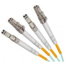 Armoured OM3 LSZH Fibre Patch Cable, LC-LC