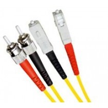 Armoured Single Mode LSZH Fibre Patch Cable, ST-SC