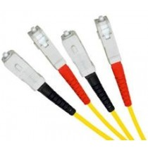 Armoured Single Mode LSZH Fibre Patch Cable, SC-SC