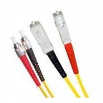 Armoured Single Mode LSZH Fibre Patch Cable, FC-SC