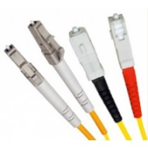 Armoured Single Mode LSZH Fibre Patch Cable, LC-SC