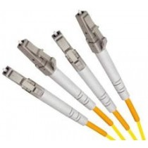Armoured Single Mode LSZH Fibre Patch Cable, LC-LC