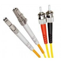 Single Mode Duplex Fibre Patch Cable, LC-ST OS1