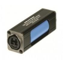 opticalCON DUO IP65 Coupler, Single Mode PC, Blue