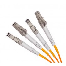 Armoured OM1 LSZH Fibre Patch Cable, LC-LC
