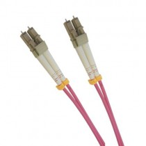 Multi Mode Duplex Fibre Patch Cable, LC-LC OM4