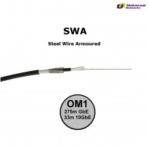 Steel Wire Armour OM1 Fibre