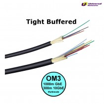 Multi Mode 50/125 OM3 Tight Buffered, Internal/External, LSZH, per metre