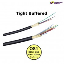 Single Mode 9/125 OS1 Tight Buffered, Internal/External, LSZH, per metre