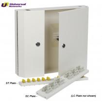 SC Single Mode Wall Box, Double Door Lockable