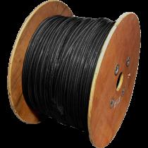 Datwyler Uninet Cat7 Stranded, Black, per metre