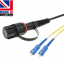 Singlemode Tactical patch cable IP68 to SC