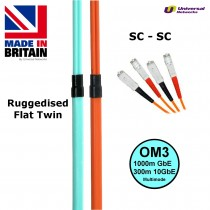 Ruggedised Fibre Cable OM3 SC